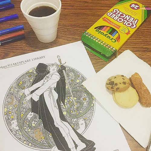 Coffee, Cookies, and Coloring