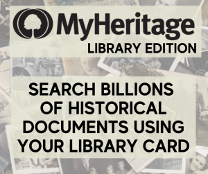 My Heritage Library Edition database